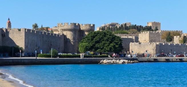 средневековый город Родос