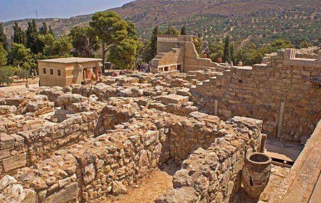 Достопримечательности Крита. Легенда Кносского дворца