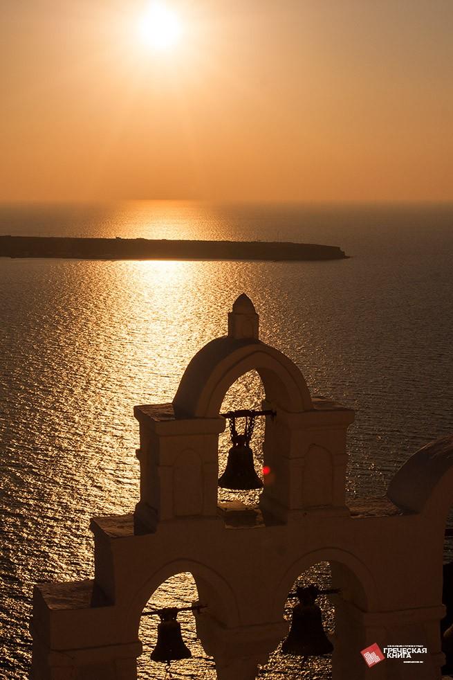экскурсия Закат Солнца на Санторини