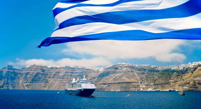 море в Греции на Санторини