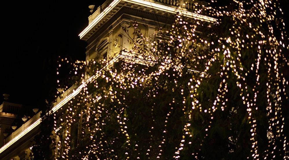 Прогулка по рождественским Афинам (фото)
