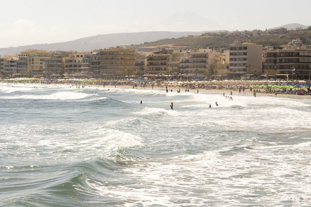 пляж в Ретимно
