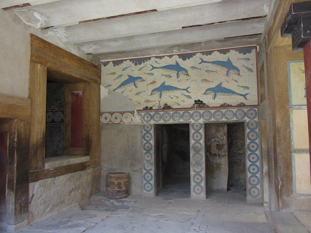 Минойская цивилизация Кносс 3