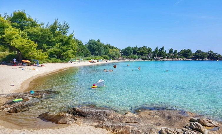 Пляж Калогрия