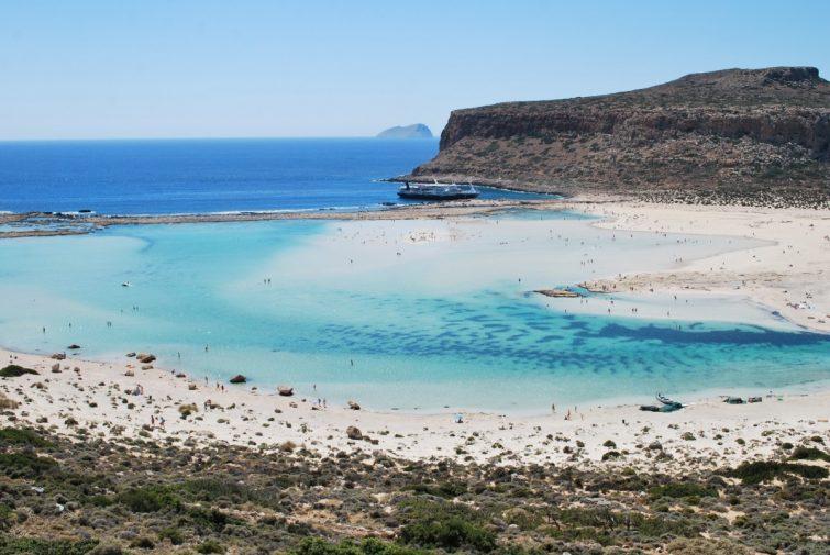Бухта  Балос - самый красивый пляж Крита
