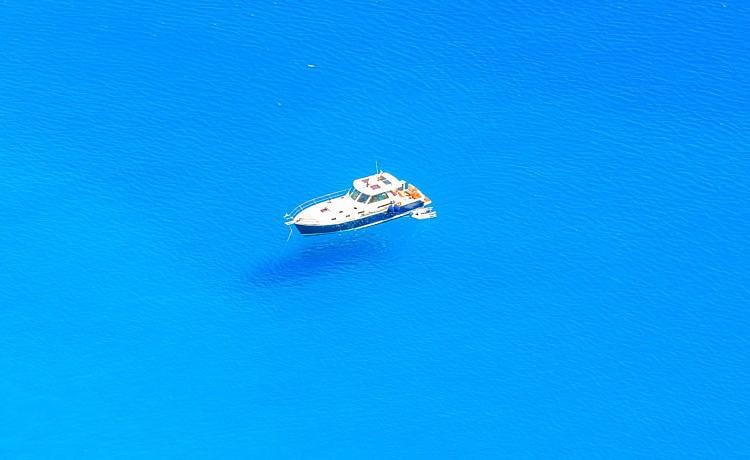 Аморгос. «Голубая бездна»