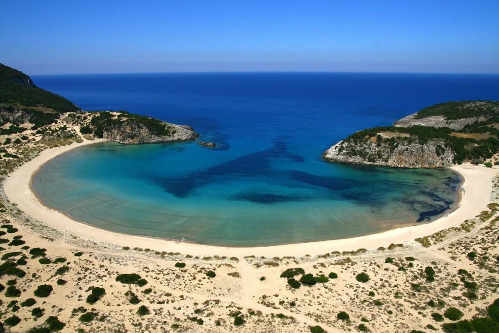 Полуостров Пелопоннес и его пляжи