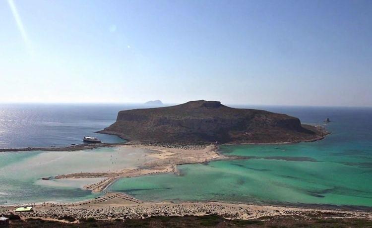 Пляж Балос. Крит (Греция)