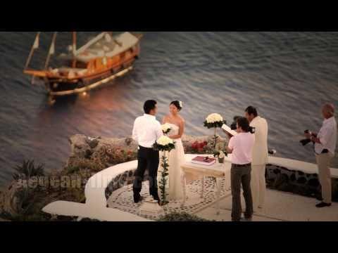 Свадьба на Санторини. История любви