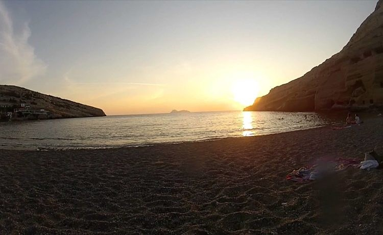 Клипы с Крита. Видео туриста