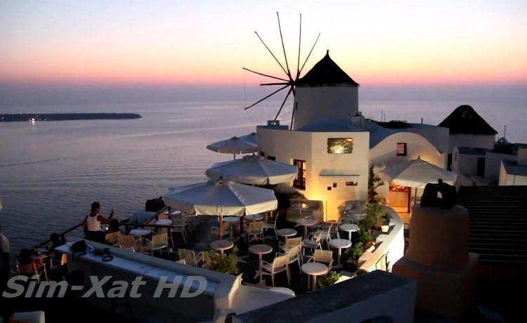 Санторини - лучший остров Греции