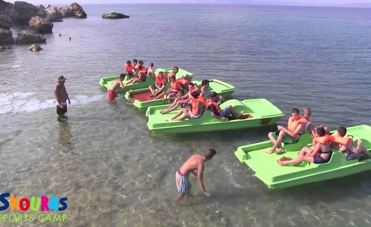 Skouras - детский лагерь на Халкидики