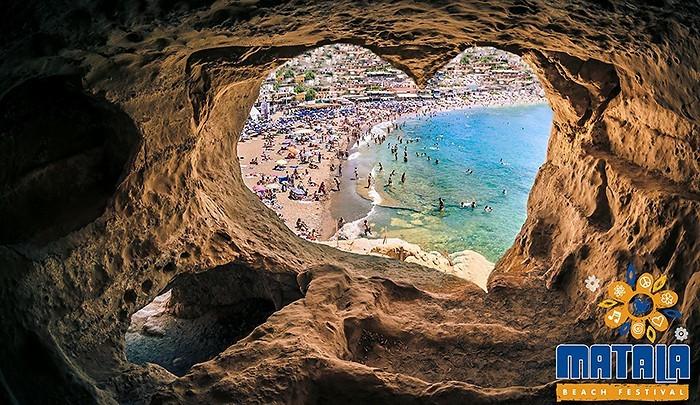 Make love, not war или Matala Beach Festival