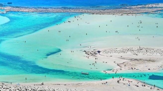 Пляжи Крита и Родоса