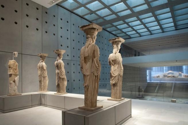 Новый музей Акрополя - один из лучших музеев в мире