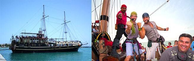 Путешествие на пиратском корабле