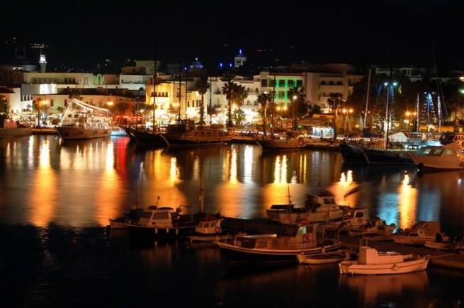 Вечерний остров Кос