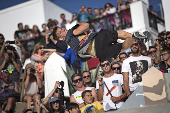 Фестиваль паркура на Санторини 2014