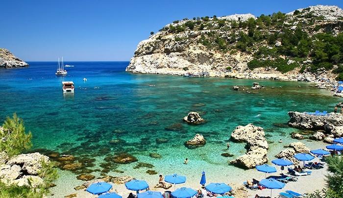 Остров Родос – популярное место для отдыха россиян летом 2013 года