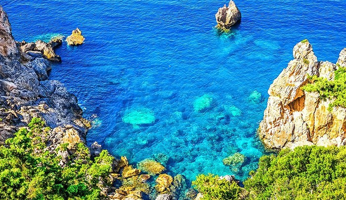 Ионическое море на Корфу