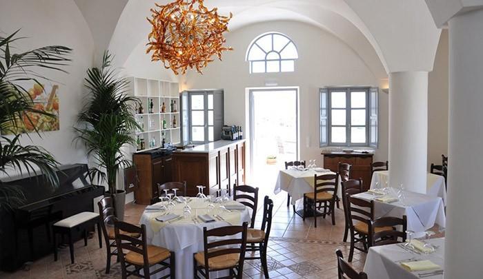 Ресторан на Санторини в TOP-101 лучших ресторанов мира