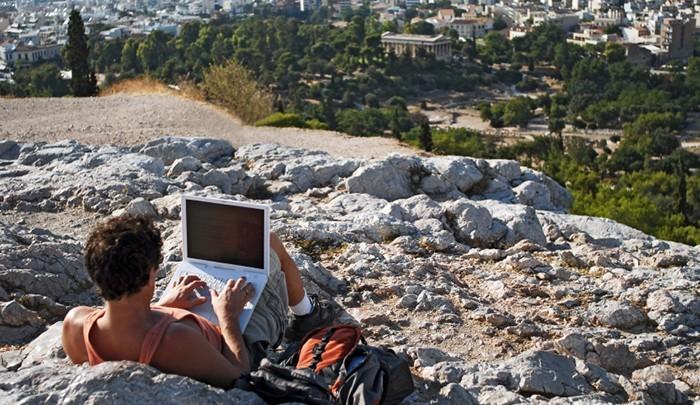 Бесплатный Wi-Fi по всей Греции