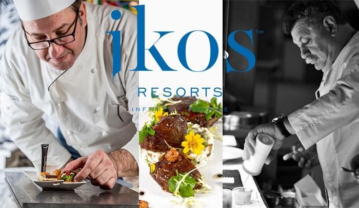Встречайте звездных «мишленовских» шефов в отелях Ikos Resorts!