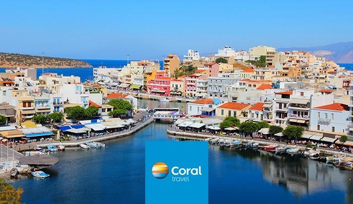 Coral Travel начал летать на Родос и Крит
