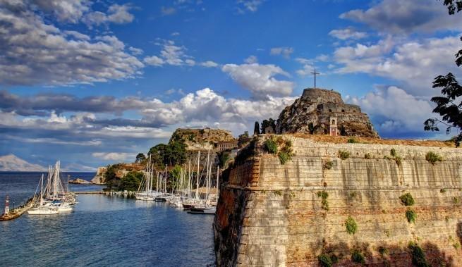 крепость на Корфу