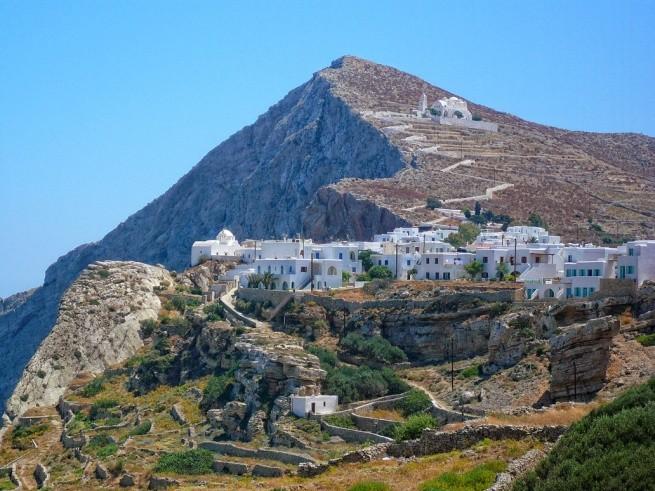 Фолегандрос – остров с самыми красивыми деревнями в Европе