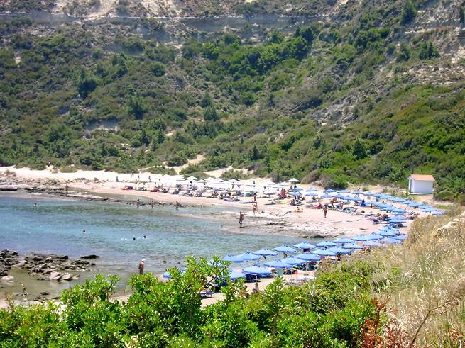 бухта Катарас Родос