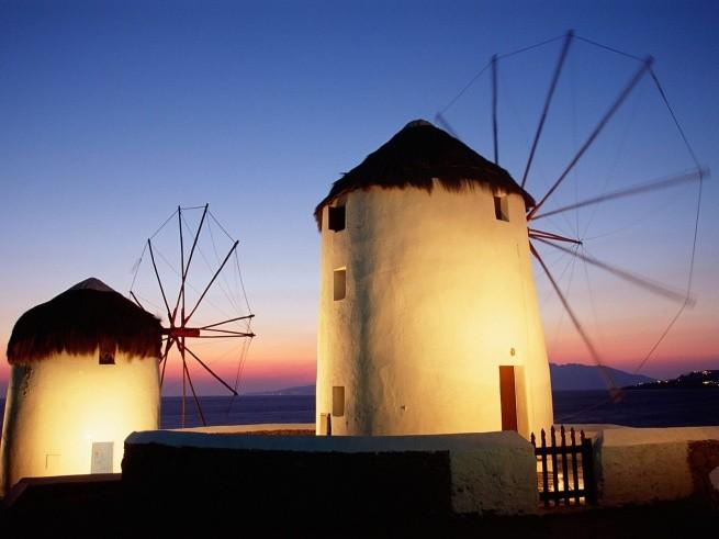Ветряные мельницы на Миконосе