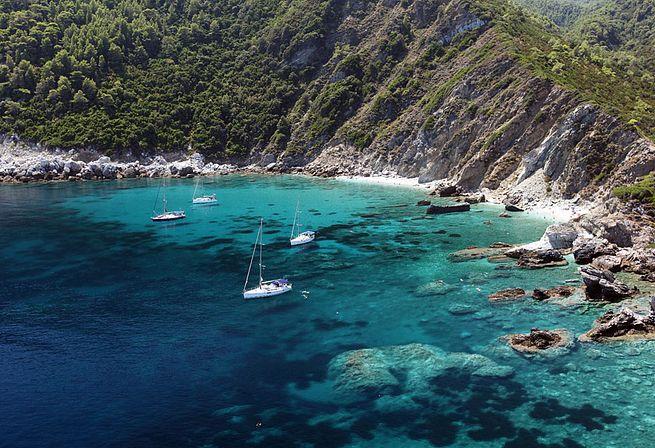 Пляжи острова Алонисос