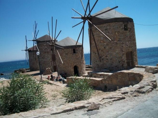 Ветряные мельницы на Хиосе