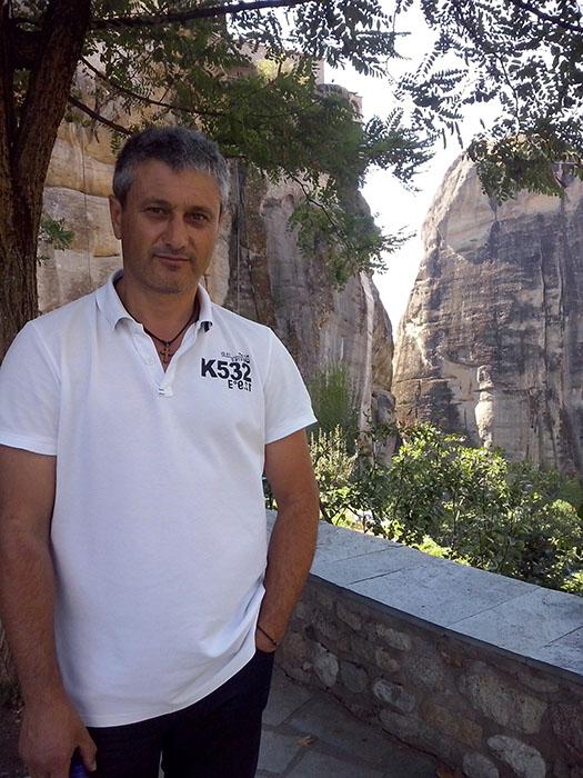 Никос Леонов - русскоговорящий гид по Греции
