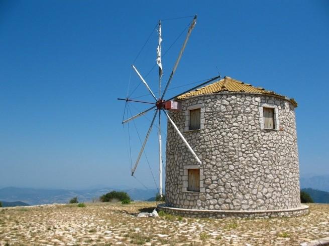 Ветряные мельницы Лефкада