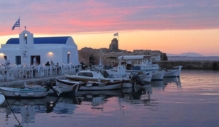Остров Парос. Романтика в уединении