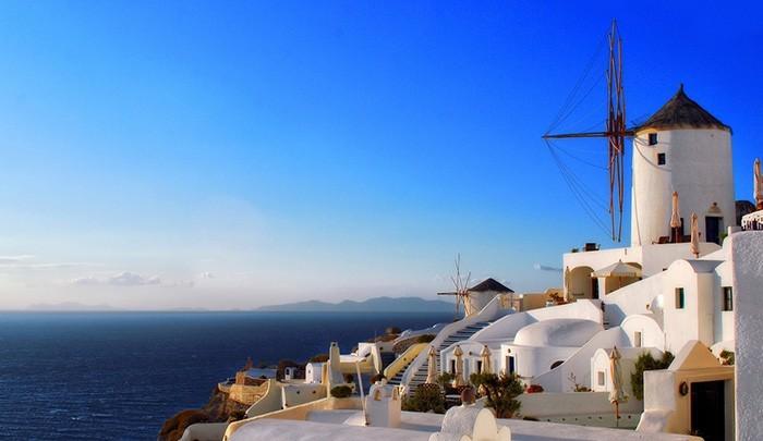 Ветряные мельницы: каменные гиганты на греческой земле
