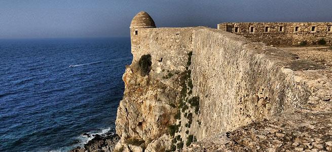 Достопримечательности Крита. Крепость Фортецца