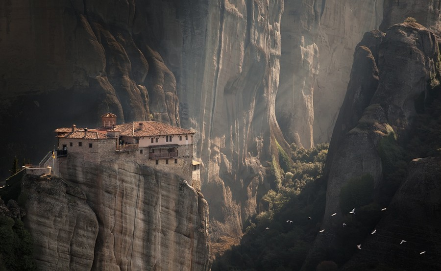 Монастыри Метеоры лучшее 3
