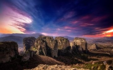 Монастыри  Метеоры. Фотографии, которые не оставят вас равнодушными