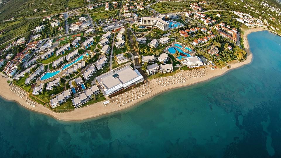 Бархатный сезон в греческих отелях Ikos Olivia и Ikos Oceania со скидками до 40%!