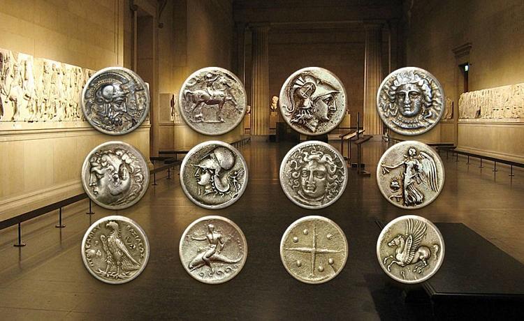 Древние монеты найдены при строительстве метро в Салониках