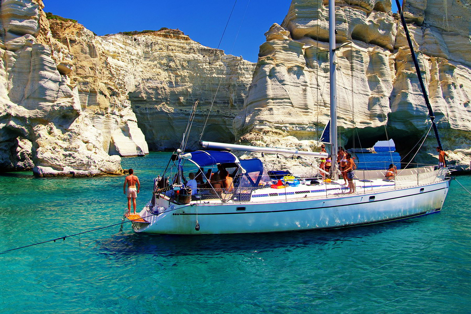 Милос - отдых и пляжи греческого острова