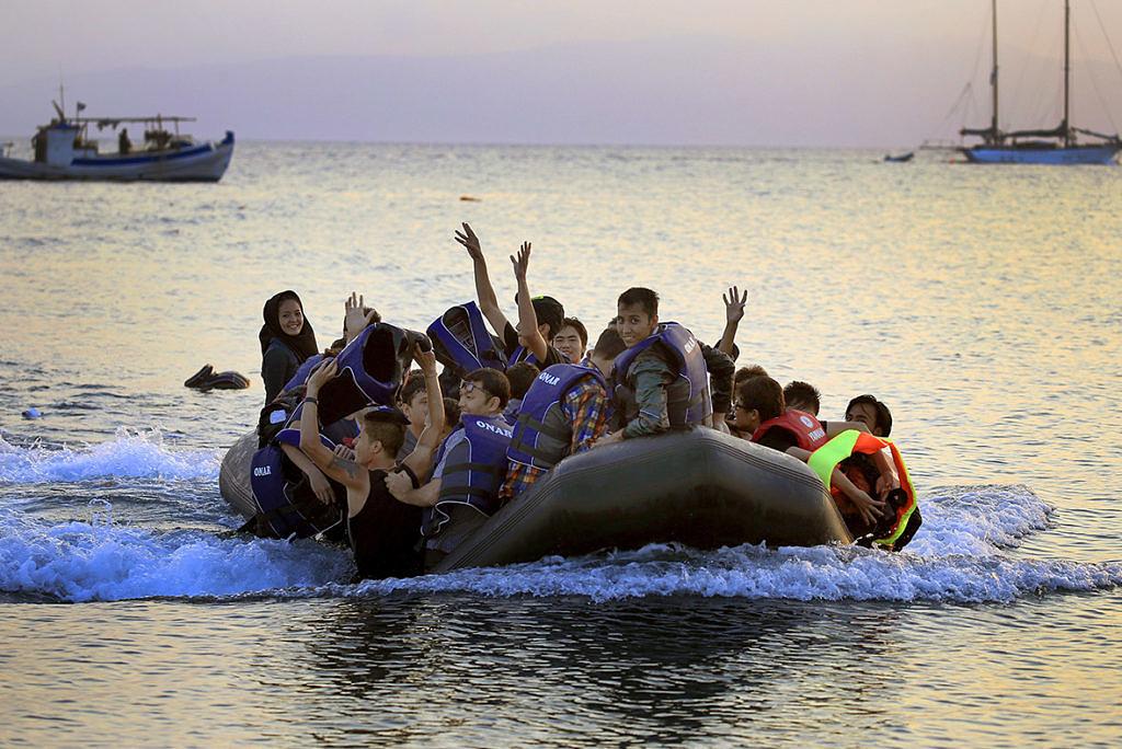 Мигранты в Греции 2