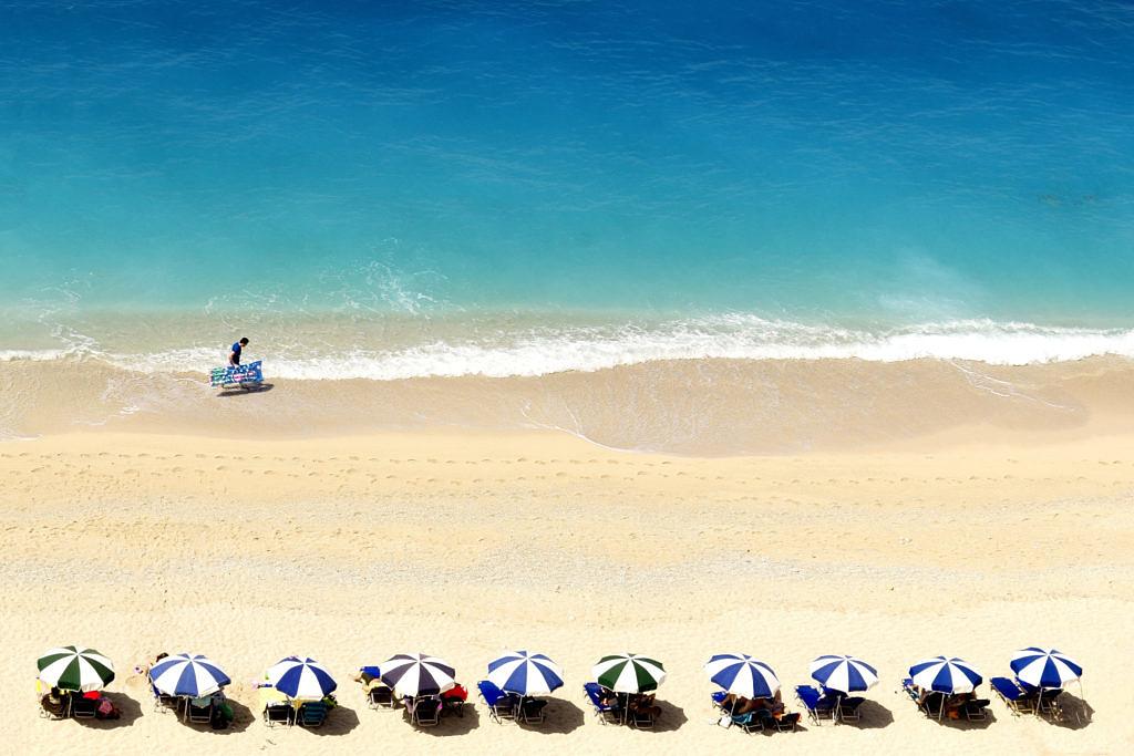 пляж Эгремни Лефкада