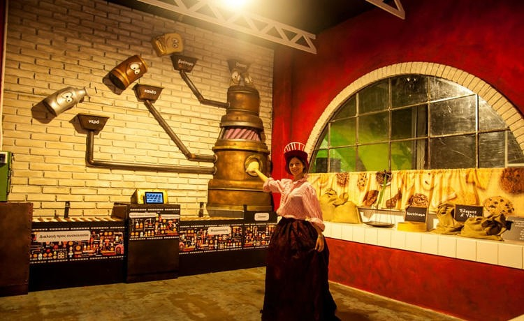 В Афинах открывается Шоколадная фабрика