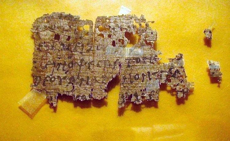 Древнегреческая рукопись была найдена на eBay за 99$