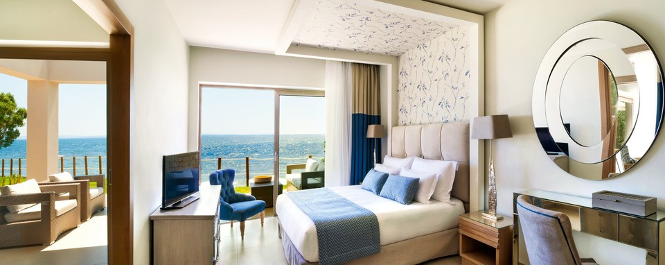 Новые номера в Ikos Olivia - Сюьт в бунгало с двумя спальнями