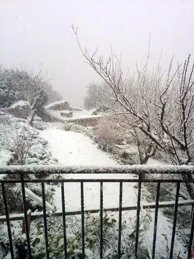 Снег на Кефалонии2